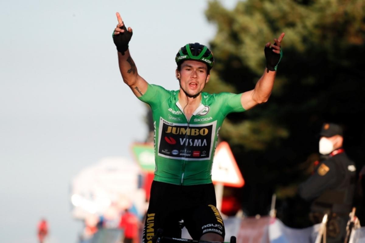 Примож Роглич выиграл 8-й этап Вуэльты Испании