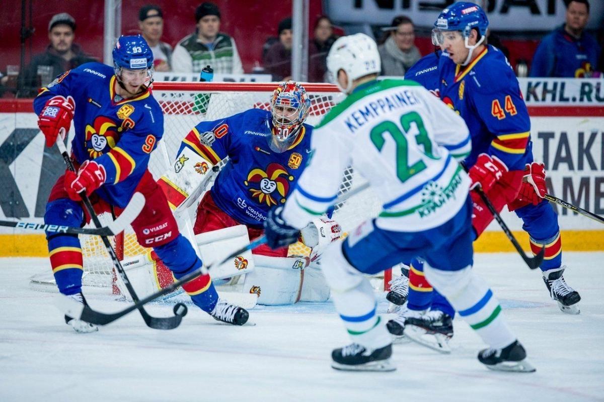 «Йокерит» – «Салават Юлаев». Финны выиграли три последние очные встречи