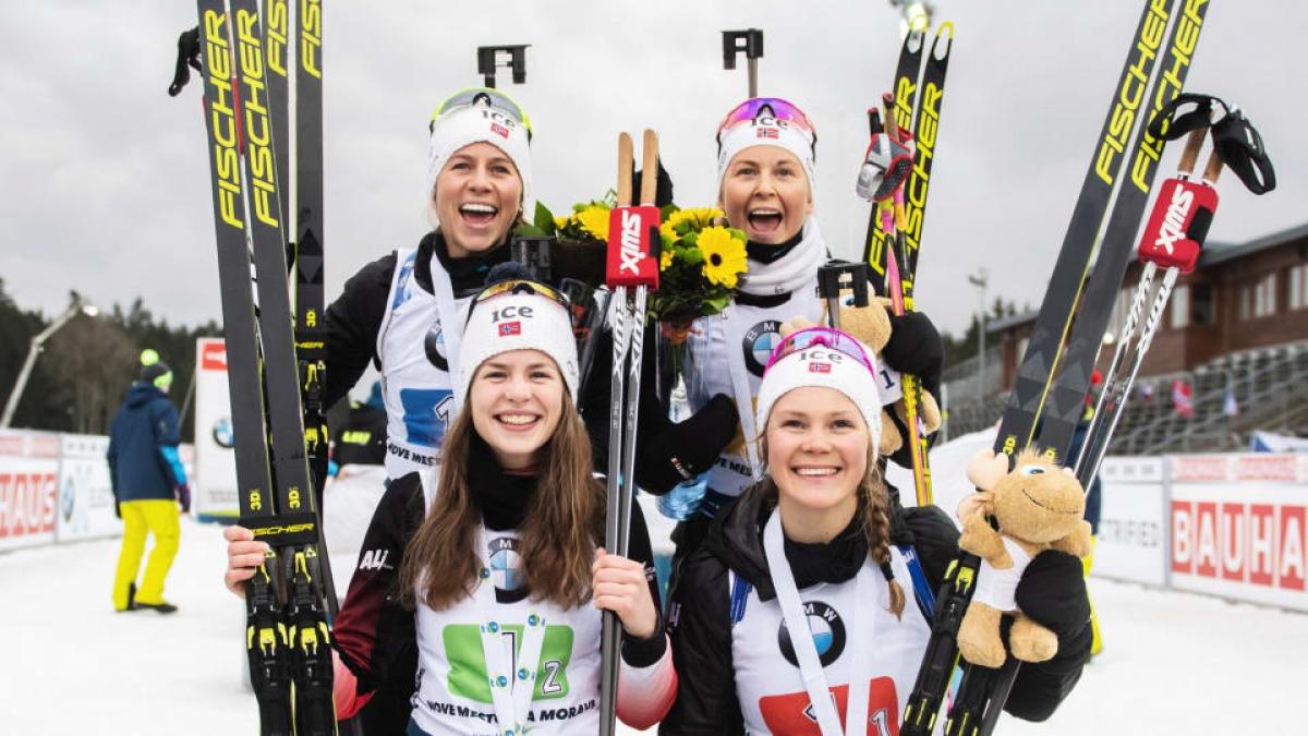 Букмекеры: Женская сборная Норвегии возьмет золото эстафеты