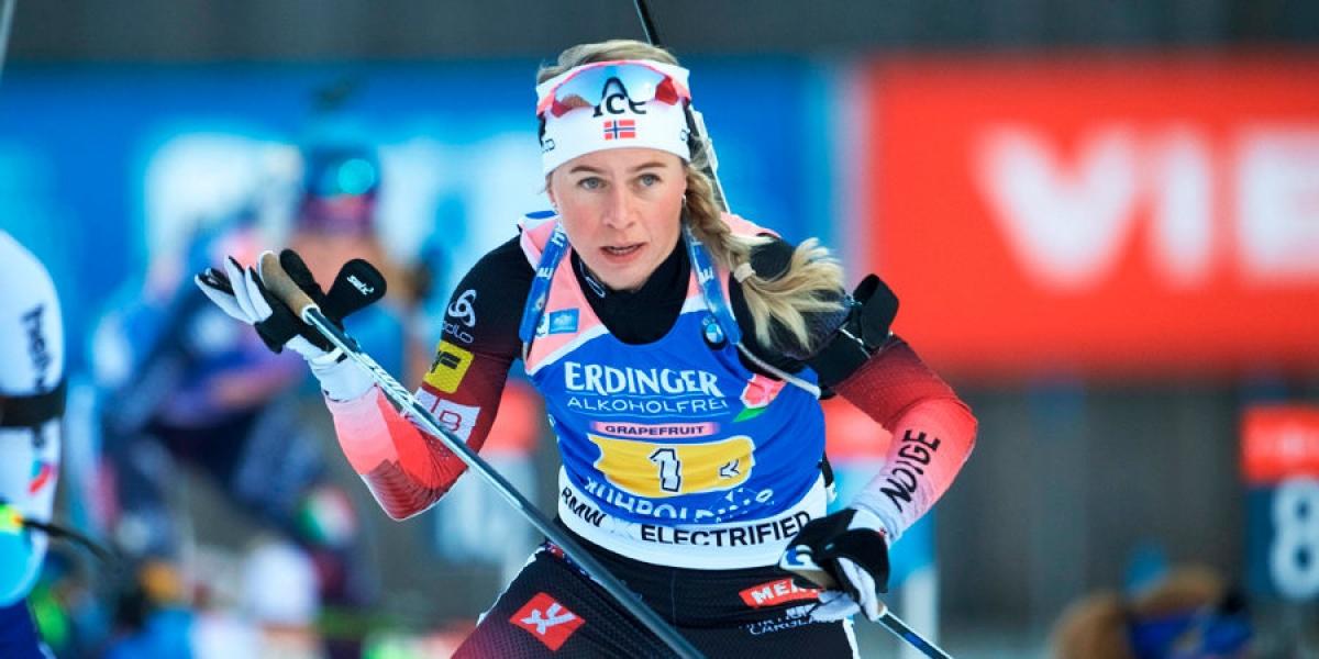 Экхофф выиграла гонку преследования, Миронова — 14-я