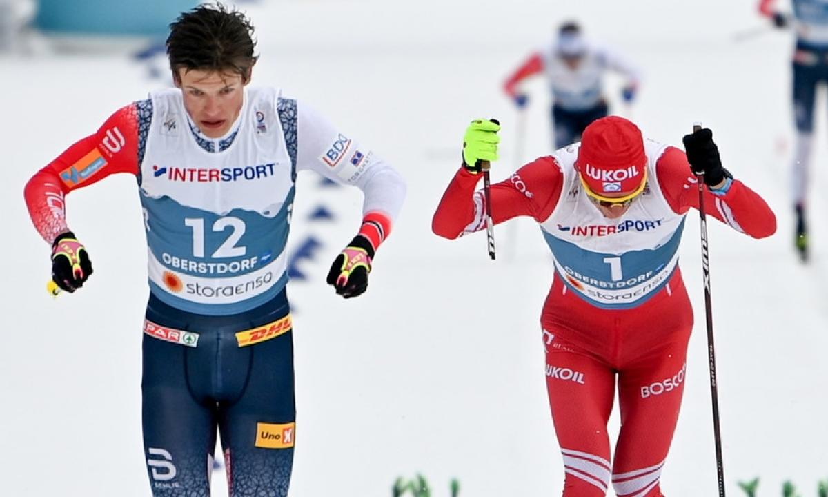 Клебо дисквалифицирован, Иверсен – чемпион мира в гонке на 50 километров