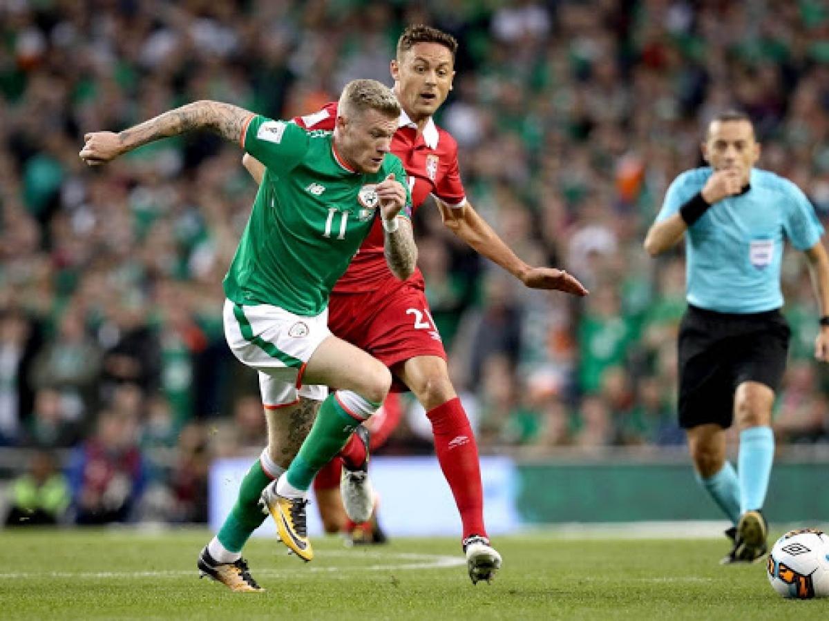 Квалификация ЧМ-2022. Сербия – Ирландия