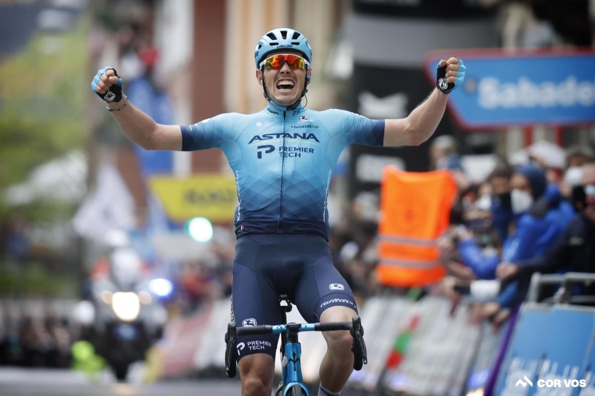 Алекс Аранбуру – победитель 2 этапа Тура Страны Басков (ВИДЕО)