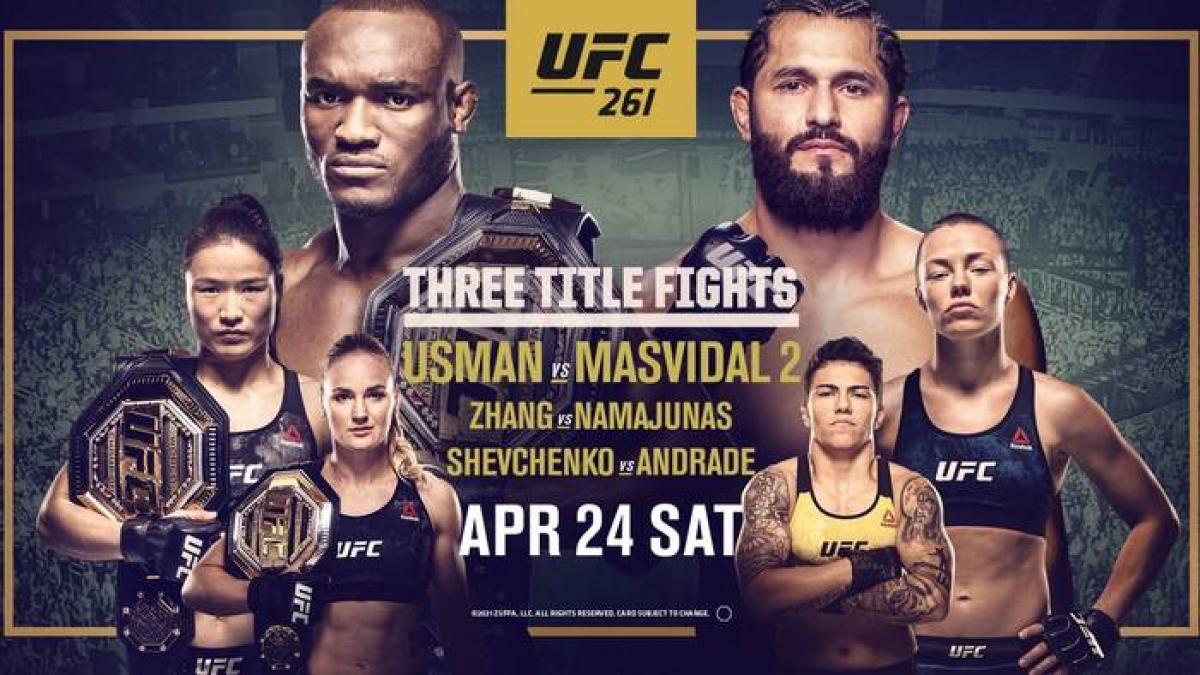 Parimatch запустил конкурс прогнозов на UFC 261 с призовым фондом 250000 рублей