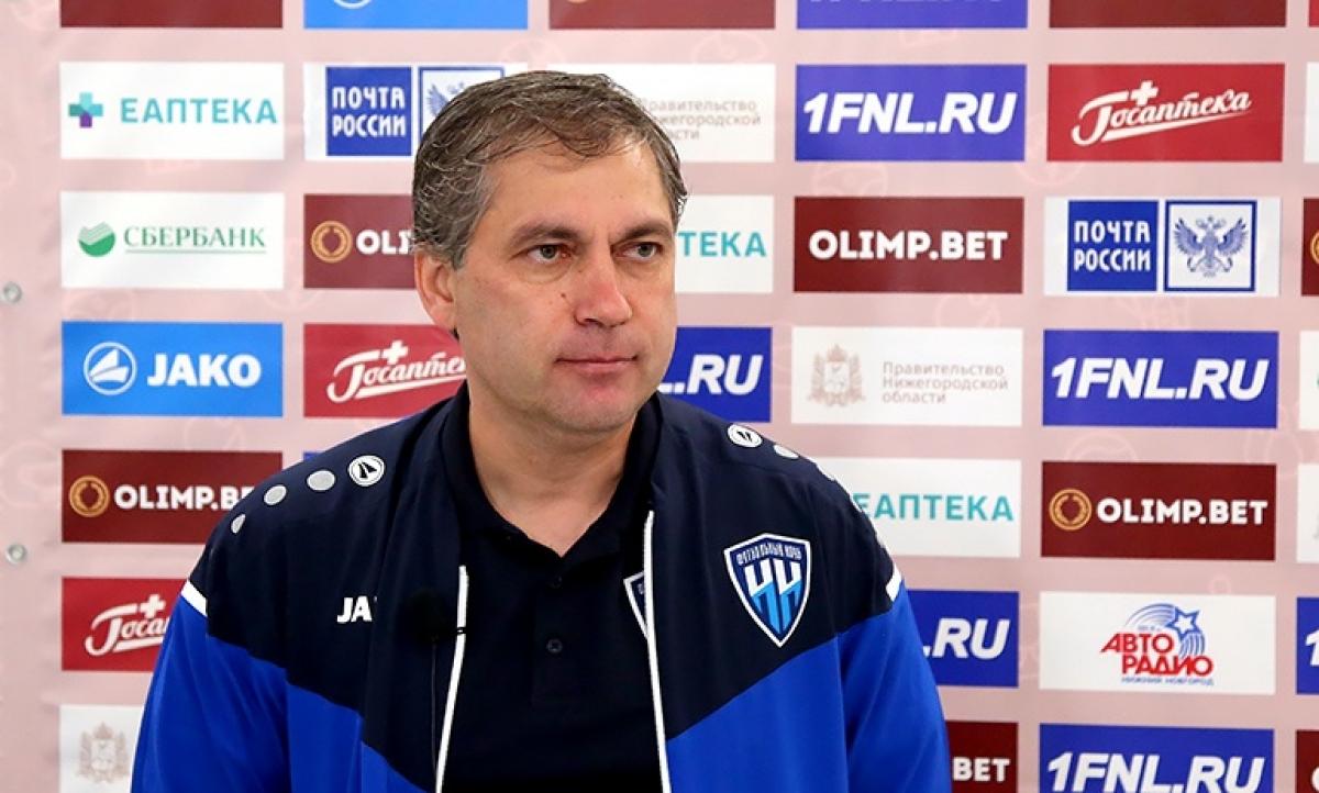 «Нижний Новгород» отстранил от работы с командой главного тренера Евдокимова