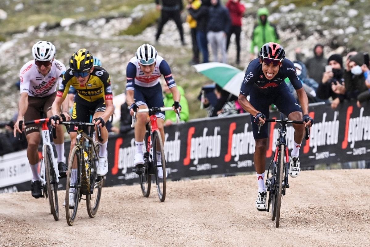 Эган Берналь – победитель 9 этапа Джиро д`Италия-2021