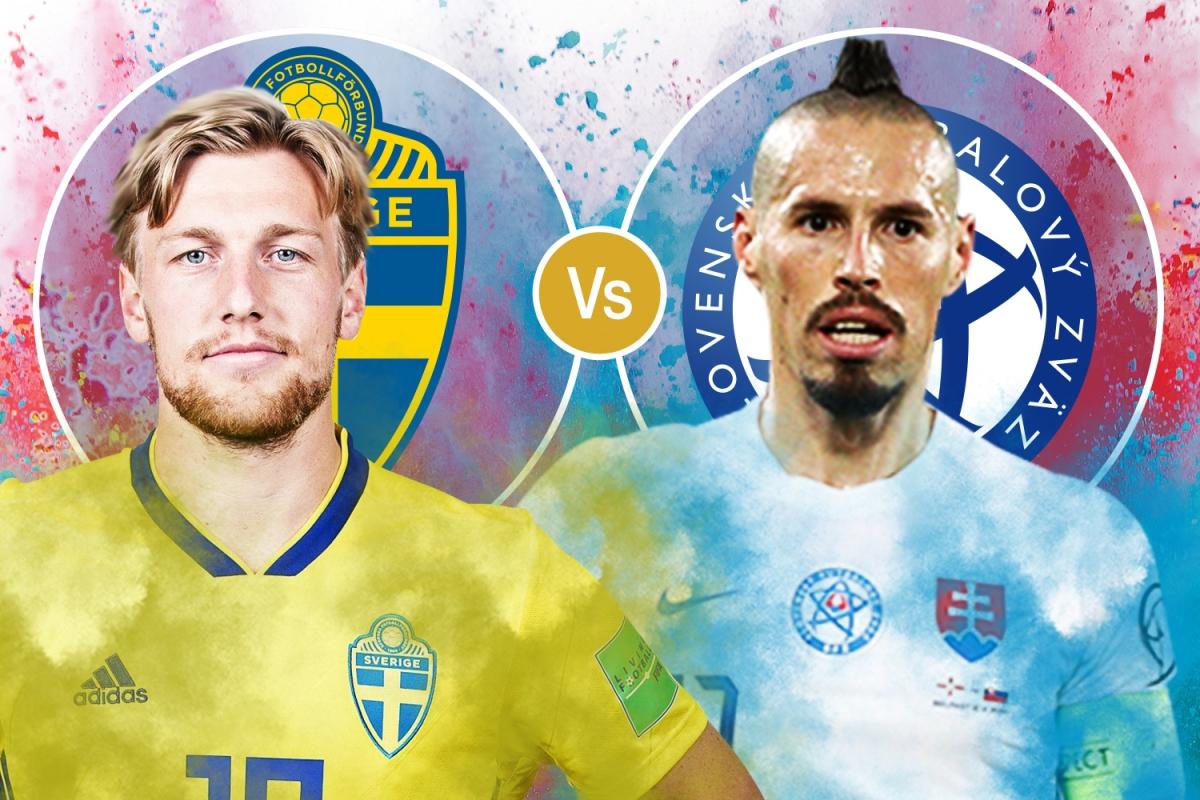 Евро-2020. Швеция – Словакия. Ждем минимум голов