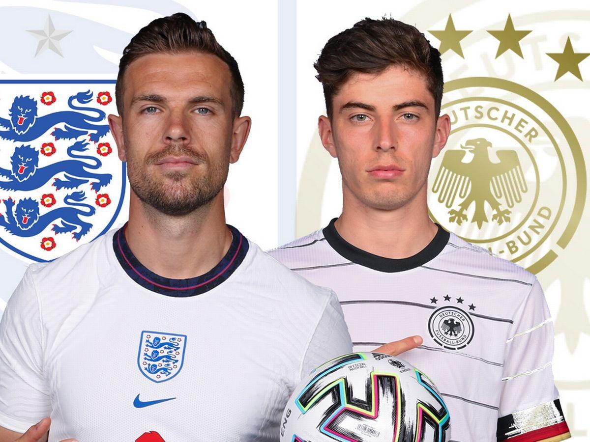 Евро-2020. Англия - Германия. Смогут ли «Три льва» впервые обыграть Германию на «Уэмбли»?