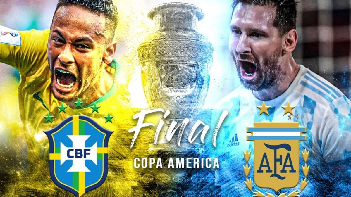 Аргентина - Бразилия. Завоюет ли Месси первый трофей с национальной сборной?