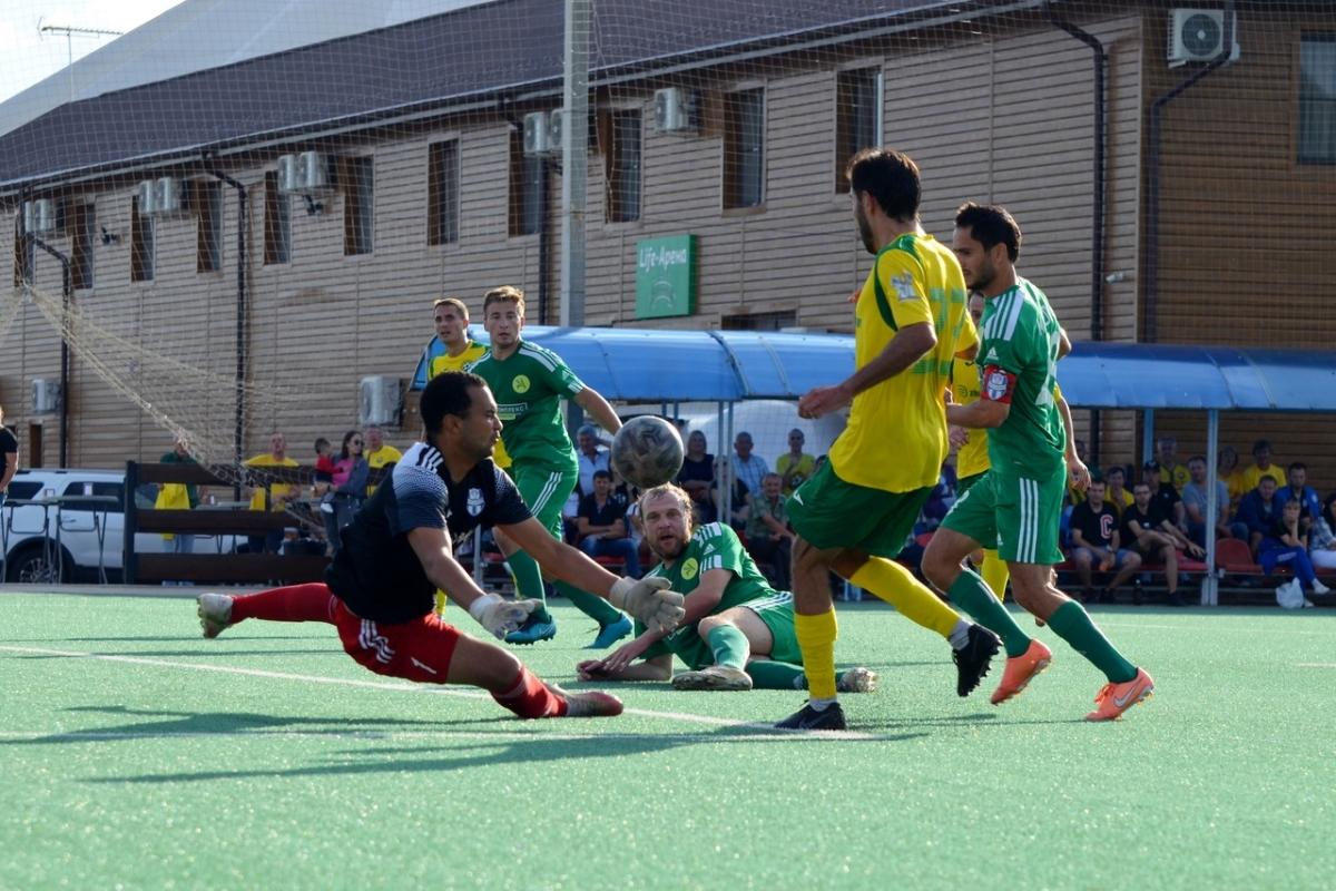 «Кубань» забила пять мячей, но проиграла битву лидеров
